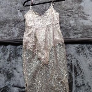 ROSE GOLD Leotard dress!!